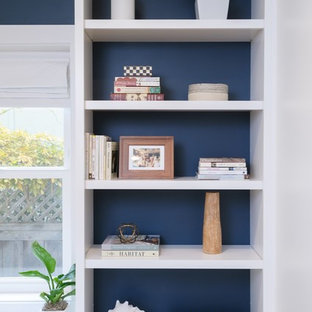 Inspiration for a coastal home office remodel in San Francisco