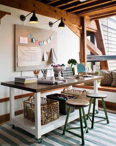 Contemporain Bureau à domicile by Jute Interior Design