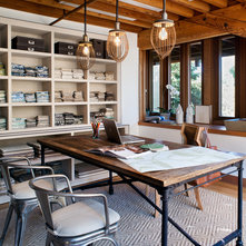Contemporary Home Office by Jute Interior Design