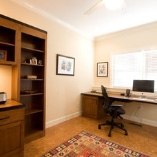 Traditional Home Office by Golden Rule Creative Remodel