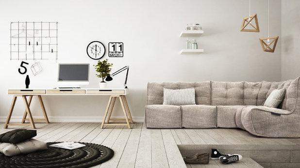 コンテンポラリー ホームオフィス・書斎 by Ambient Lounge (Australia)