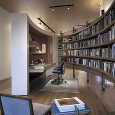 Contemporary Home Office by Gunkelmans Interior Design