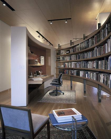 Contemporary Home Office by Gunkelmans Interior Design