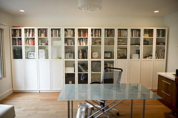 Contemporary Home Office by Copper Brook