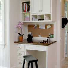 Traditional Home Office by CWP Cabinetry
