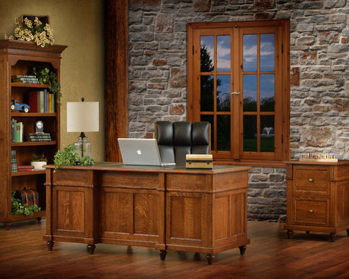 Craftsman Nashville Home Office Design Ideas Remodels