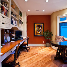 Traditional Home Office by Designs Galore, LLC