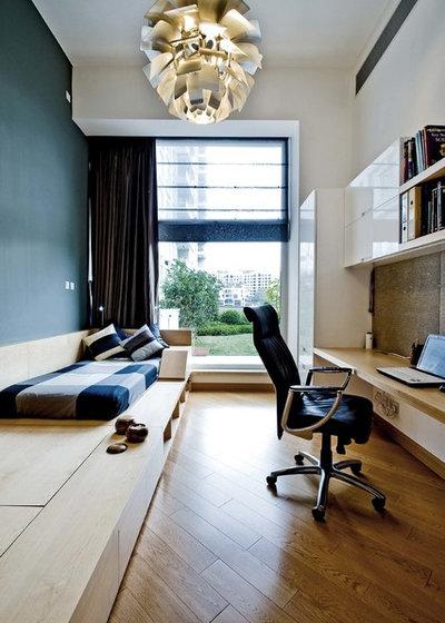 Contemporain Bureau à domicile by Ample DESIGN