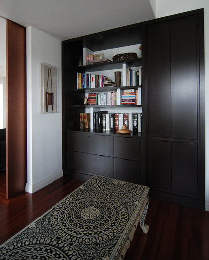 Contemporary Home Office by MJ Lanphier