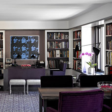 Contemporary Home Office by Michel Arnaud