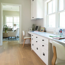 Beach Style Home Office by Andrea Swan - Swan Architecture