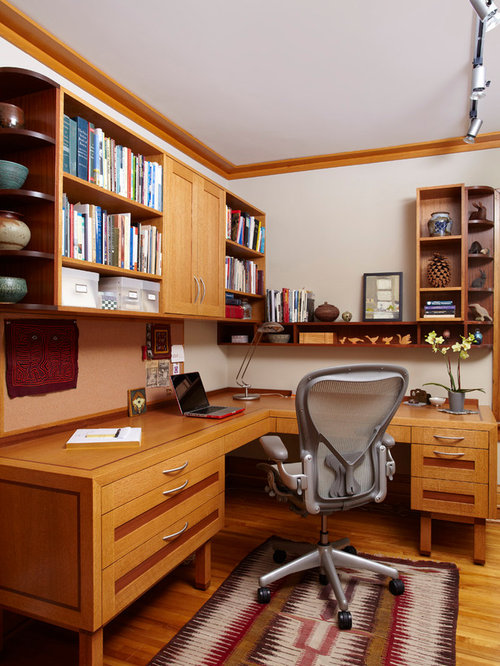 Office decor home design ideas pictures remodel and decor for Office design houzz