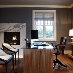 contemporary home office by Beth Dotolo, RID, ASID