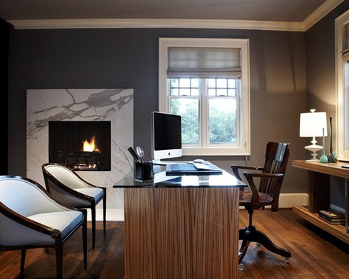 Admirable Unique Home Office Furniture Design Ideas Remodel Pictures Houzz Largest Home Design Picture Inspirations Pitcheantrous