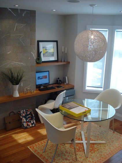 Modern Home Office by Silvia Mazzone