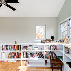 Modern Home Office by Moontower Design Build