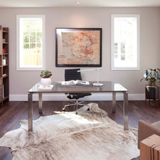 Contemporary Home Office by Murphy & Co. Design