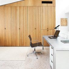 Modern Home Office by ARTerior Design