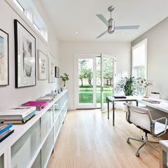 modern home office by Kimberly Demmy Design