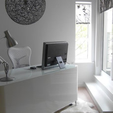 Modern Home Office by Adrienne Chinn Design