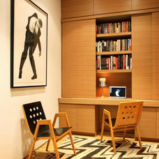 Modern Home Office by Axis Mundi
