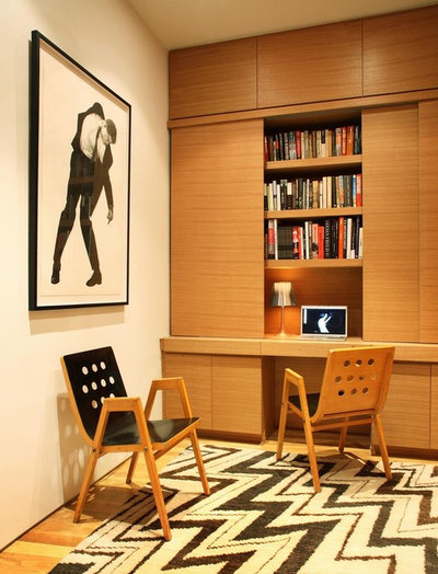 Moderno Despacho Modern Home Office