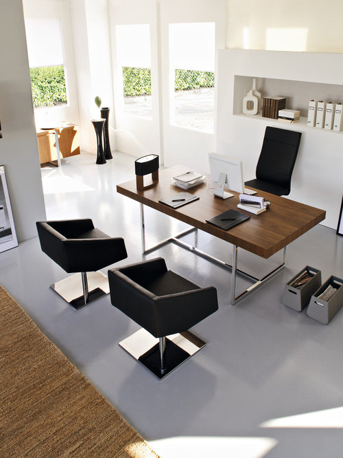 Modern home office furniture houzz Home office designer furniture