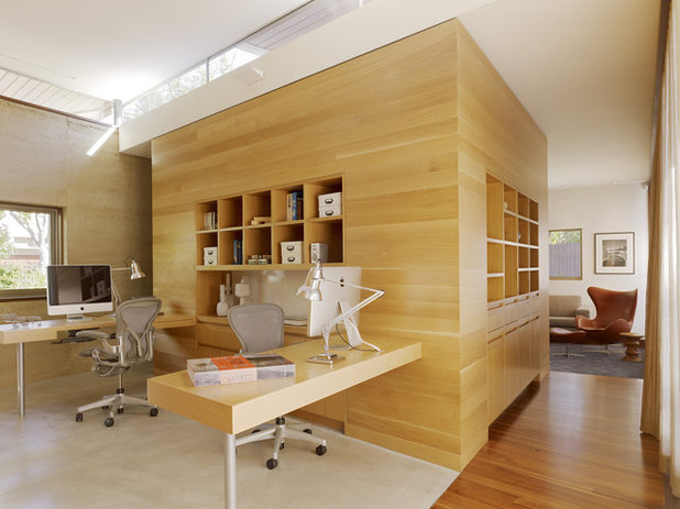Modern Home Office For Two home offices: how to set up a great workspace for two