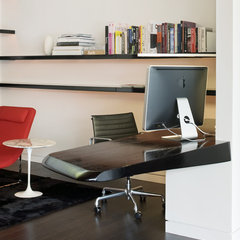 modern home office by Hufft Projects