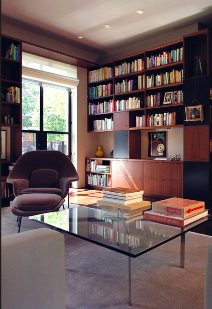 modern home office by Baltis Architects