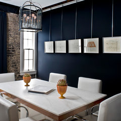 modern home office by Kenneth Brown Design