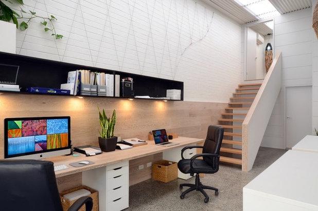 Oficina para dos c mo optimizar espacios de trabajo for Disenar un despacho