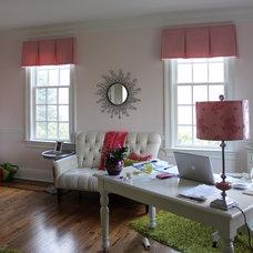 Modern Home Office by Lynn Chalk