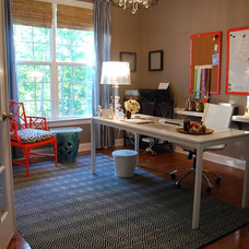 Contemporary Home Office by Nicole Lanteri, On My Agenda LLC