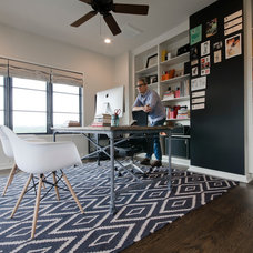 Contemporary Home Office by Wade Griffith Photography