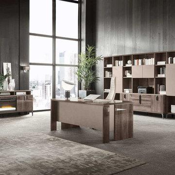 Modern Italian Office Desk MATERA by ALF Italia