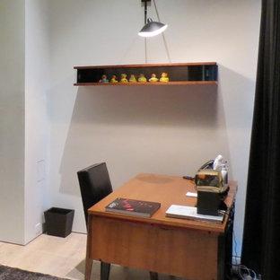Home office - modern home office idea in Denver