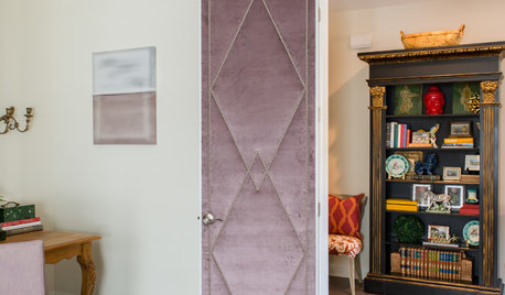 Velvet-Covered Doors Lead to a 'Ladies Lounge'