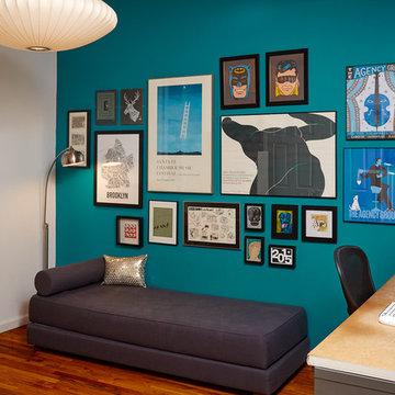 Modern New York City Apartment – Interior Design Home Office