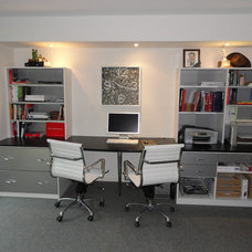 Modern Home Office by Andrea Gary/Queen of Kerfuffle™