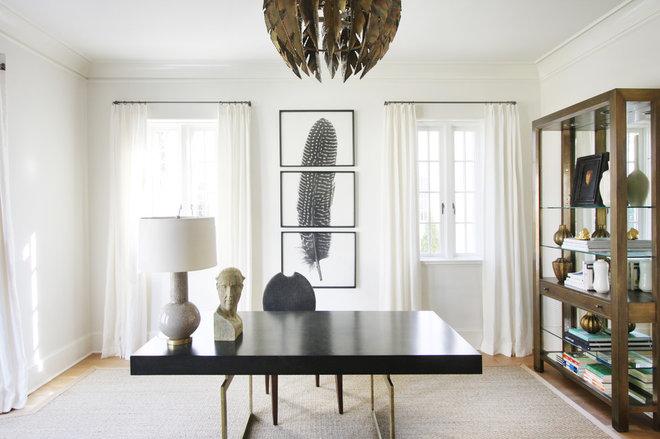 Classique Chic Bureau à domicile by Lisa Sherry Interieurs