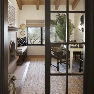 Modern Spanish Estate - Study
