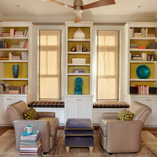 Traditional Home Office by LORRAINE G VALE, Allied ASID