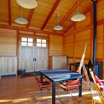 Modern Timber Frame Studio