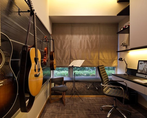 Guitar Wall Mount Home Design Ideas, Pictures, Remodel And