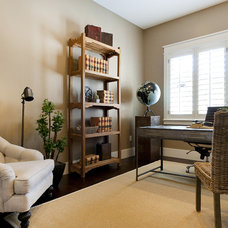 Traditional Home Office by Candlelight Homes