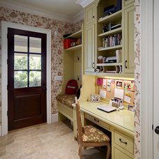 Traditional Home Office by John C. Sanders and Company
