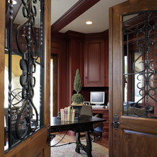 Mediterranean Home Office by Conrado - Home Builders