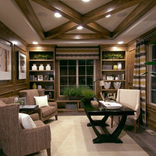 Contemporary Home Office by Century Communities