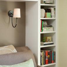 Traditional Home Office by Jessica Risko Smith Interior Design